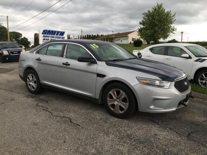 2015 Other Ford Taurus (1FAHP2MK0FG) with an 3.7L V6 3.7L V6 engine, located at 4845 Woodbury Pike, Roaring Springs, PA, (814) 317-5008, (814) 317-5008, 40.250935, -78.366959 - Photo #0